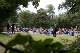 Mozart suona la sveglia al parco Tozzoni