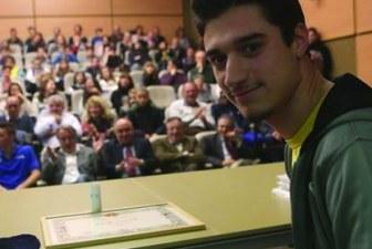 Lorenzo Bilotti atleta dell'anno