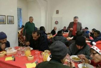 Il Ristoro offre un caldo Natale a 40 persone