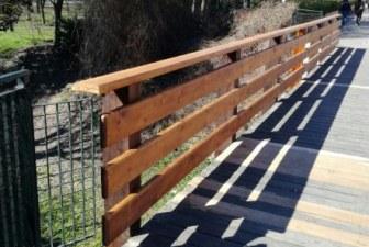 Toscanella, sistemato il ponte sul rio Sabbioso