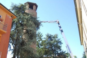 Cotignola, restyling per la storica Torre d'Acuto