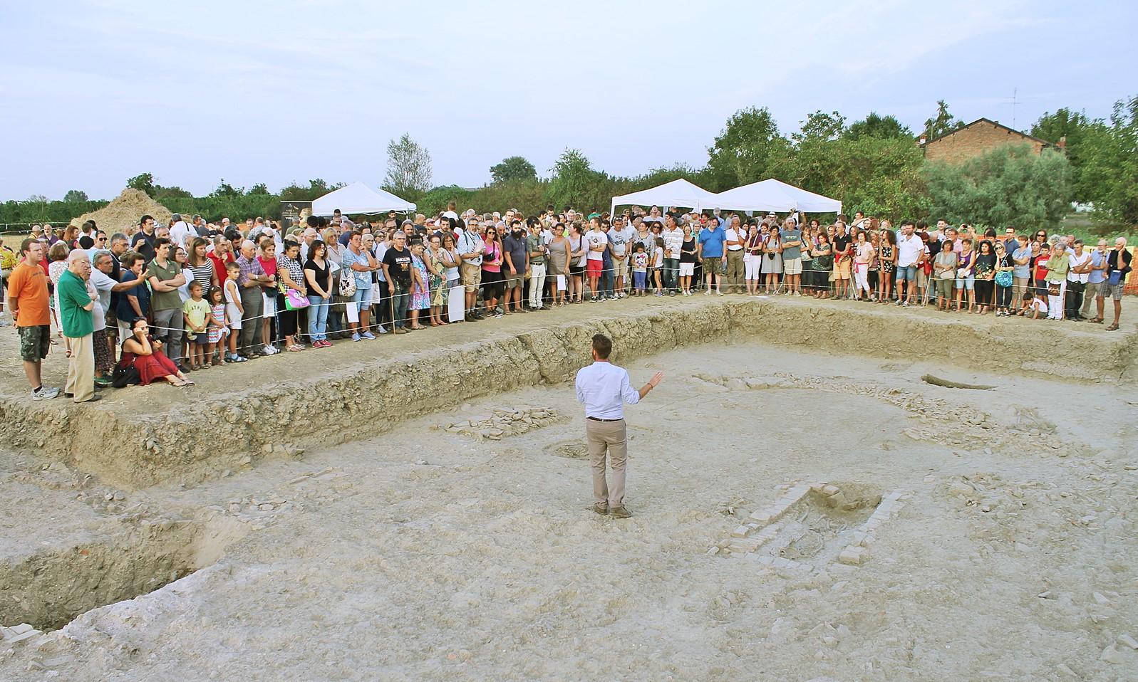 Lugo successo per l 39 open day agli scavi il nuovo diario for Libertas nuoto lugo